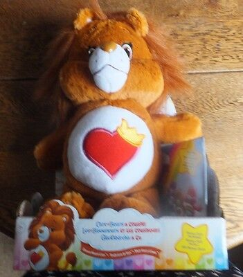 Care Bears - Brave Heart Lion with DVD - Plush - Childs Toy - Suitable Ages 3+