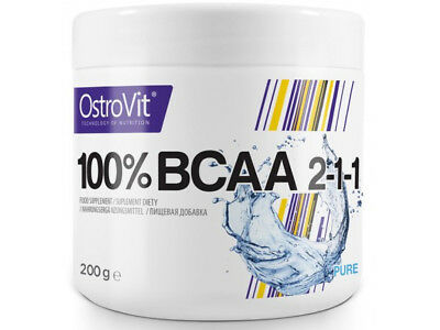 BCAA - Branch Chain Amino Acids 2:1:1-  200g Powder  - Muscle Building
