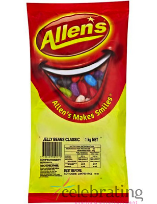 Allen's Jelly Beans Assorted 1kg