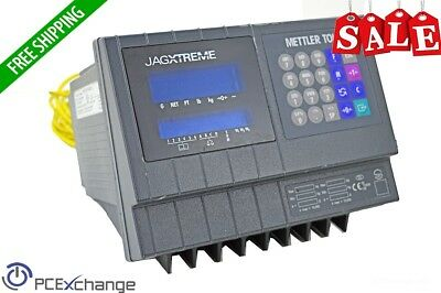 Mettler Toledo Jagxtreme Industrial Scale Terminal Interface Panel Display 120V