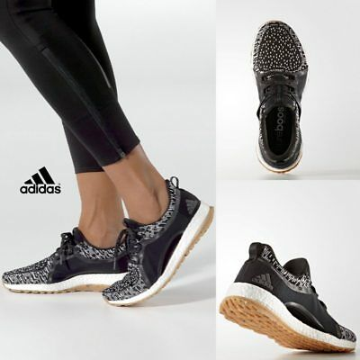 new styles 2d316 b47b2 Adidas Women s Pure Boost X ART Running Sneakers Black BY2691 SZ 5-11