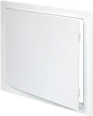 Acudor Products White 18-Inch x 18-Inch Plastic Wall Or Ceiling Access Panel New
