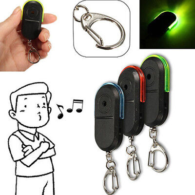Typical Wireless Whistle Voice Control Keychains LED Anti-Lost Key Finder Alarm