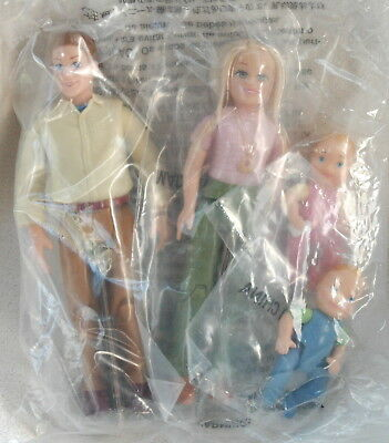 Fisher Price Loving Family Lot of 4 Mom Dad Twin Babies *New* Dollhouse Figures