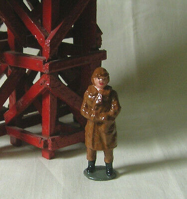 RAF Royal Air Force Pilot, model train or plane figure, Reproduction Johillco