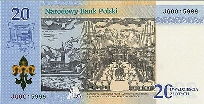 """Poland 20 zlotych """"300th Anniversary of the Coronation""""-2017 - UNC"""