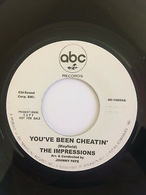 The Impressions / The Tams – You've Been Cheatin' / Be Young, Be Foolish happy