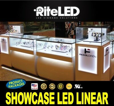 LED 6000k Lighting Customize Display showcase jewelry Store Pawn Shop