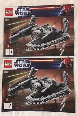 75055 star wars lego star destroyer bauplan bauanleitung instruction manual neu eur 8 90. Black Bedroom Furniture Sets. Home Design Ideas
