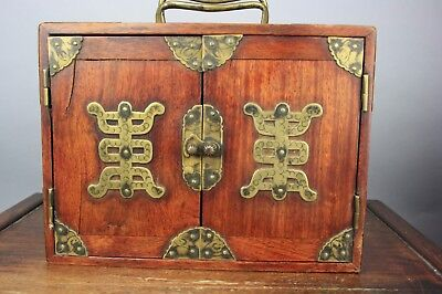 19th/20th C. Chinese Mahjong With Redwood Box