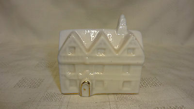 Antique/Vintage Crested China Model Of A House - Swansea Crest