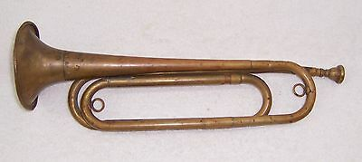 US Regulation Brass Bugle Made in the USA