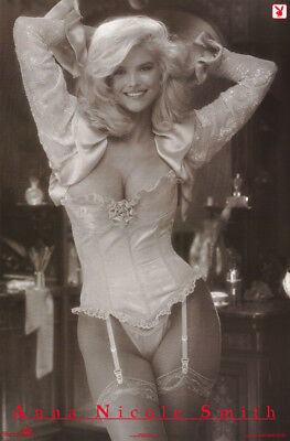 Lot Of 2 Posters: Anna Nicole Smith - Playboy - Sexy Female Model   #2401  Lc1 C