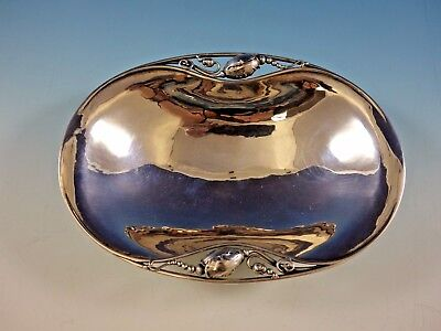 """Blossom by Georg Jensen Sterling Silver Oval Bowl 7 3/8"""" x 5 1/2"""" x 1 7/8"""""""