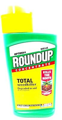 Roundup Optima+ Liquid Concentrate Weed Weeds Killer Glysophate 540ml 116972