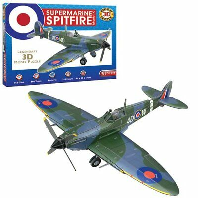 Cheatwell Build Your Own Supermarine Spitfire Mark Ix 3D Puzzle Model Plane