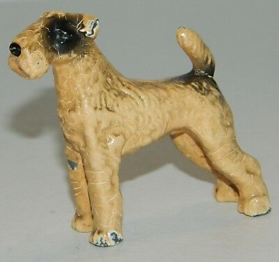Vintage Cold Painted Small Austrian ? Bronze Fox Terrier