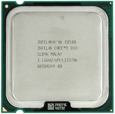 PROCESSORE CPU INTEL CORE 2 DUO E8500 6M CACHE 3.16 GHz 1333 MHz FSB OFFERTA