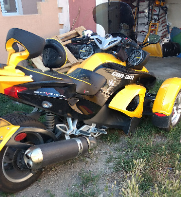2008 Can-Am Spyder RS  2008 Spyder under 10k miles.Full JL Audio Stereo
