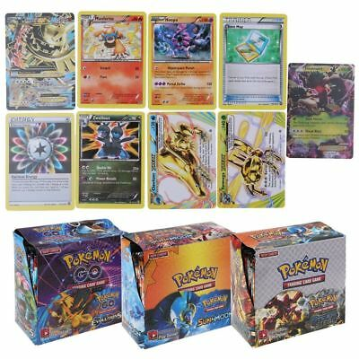 Four styles 36 Packs 324pcs Pokemon Go TCG Booster Box English Edition Cards