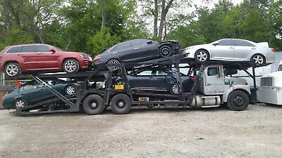 1994 volvo 5 PACK 5 CAR CARRIER