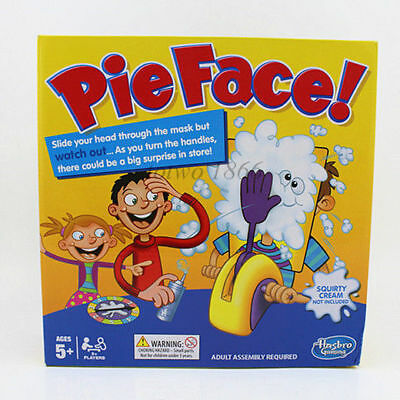 Pie Face Board Family Fun Toys Rocket Modern Game Halloween Christmas gift