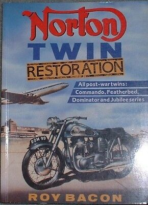 Norton Twin Restoration by Roy Bacon Published in 2000