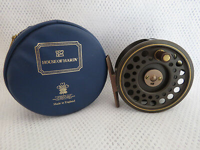 Hardy The Golden Prince  5/6  Trout Reel  In Hardy Case