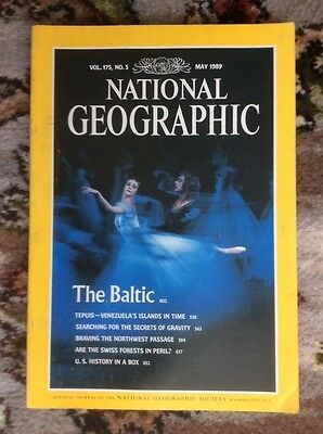 National geographic May 1989