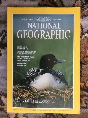 national geographic magazine, April 1989
