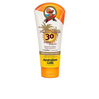 Cuerpo Australian Gold unisex PREMIUM COVERAGE SPF30 lotion sunscreen 177 ml