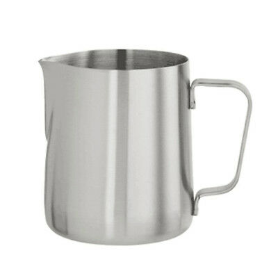 Japanese Stype Thicken Stainless Steel Milk Frothing Pitcher (Silver,600ml) G9X7