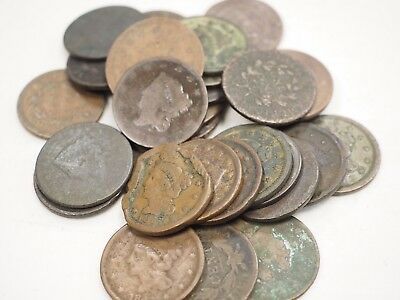 30 cull and low grade large cents