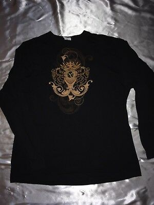 Las Vegas M Casino & Spa 3rd Anniversary 2012 Long Sleeved Black T-Shirt XL