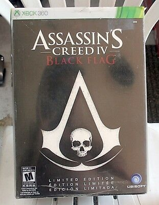 Assassins Creed Iv Black Flag Limited Edition Bundle With Figurine For Xbox 360