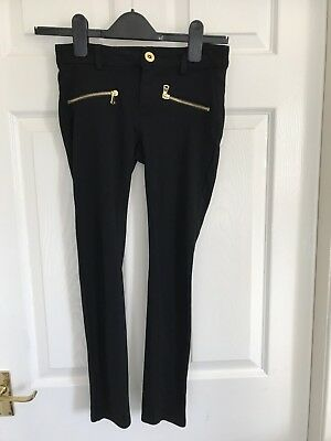 Girls Smart Black Trousers, New Look, Age 10-11, L@@K