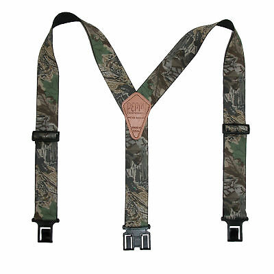New Perry Suspenders Men's Elastic Hook End Camouflage Suspenders