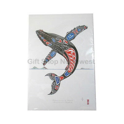 Northwest Coast Native American Art Print Humpback Formline Jack Winn