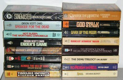 CHOOSE/SELECT Lot#4 - any Science Fiction / Fantasy pbs for $4.99