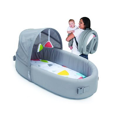 Bassinet to-go Metro - Portable Infant Bed Folds Into Backpack - With Activit...