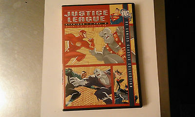 Dvd-Justice League-Stagione 1-Vol 2-Dischi 3/4-Eps 14-26-Ita-Warner Home Video