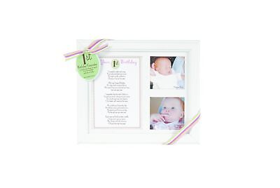 The Grandparent Gift Co. Photo Frame First Birthday - Girl (Discontinued by M...