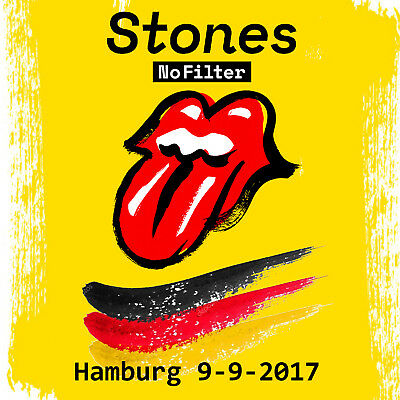 THE ROLLING STONES 2 CD Live HAMBURG 9-9-2017 EXCELLENT