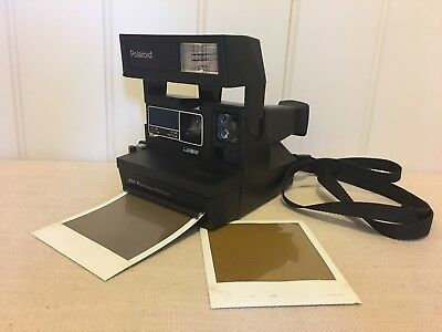 Polaroid Instant One Step Camera Uses 600 Film Tested Working!