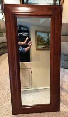 Beautiful Wooden Dressing Mirror Out Of Mansion In Great Condition