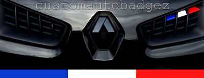 Renault Megane Sport Mk2 Phase 2 French Flag Grille Vinyl Stickers 225 R26 F1