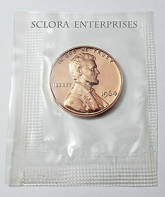 1964 Lincoln Memorial *proof* Cent / Penny   **free Shipping**