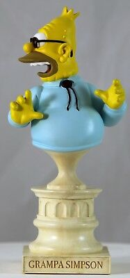 Grampa Bust • Simpsons • Sideshow Collectibles • 2003 • Limited Edition
