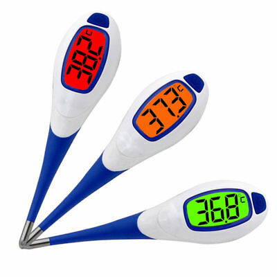 Baby Adult Fever Alert Function Digital Body Soft Head Oral Alar Thermometer