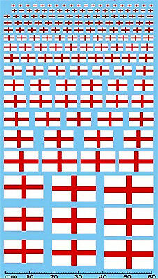 Flags England Flags England Drapeaux Angleterre 1:18 Decal
